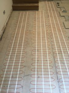 Electrical Underfloor Heating: Firs Walk, Welwyn
